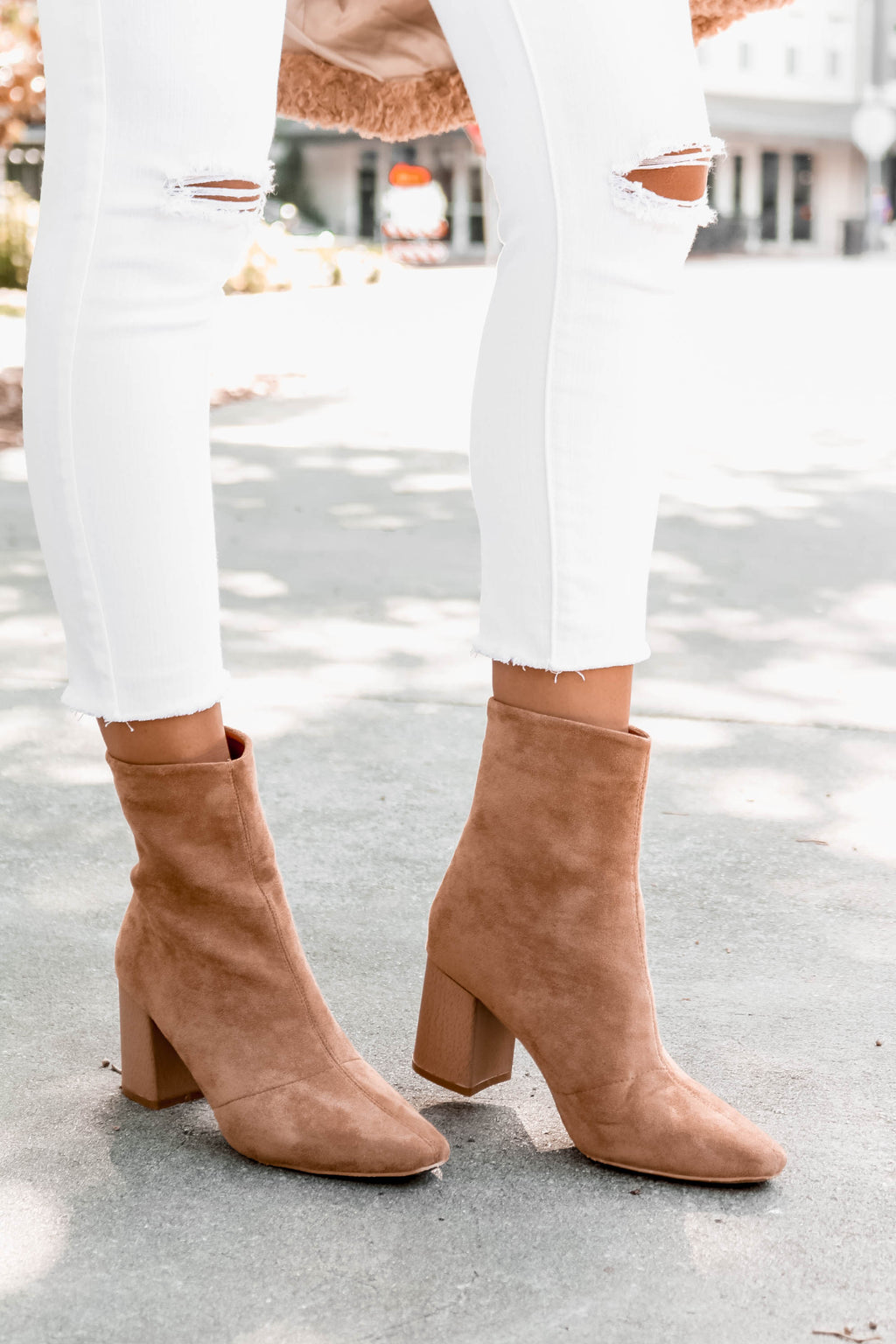 Lexie Ankle Boot in Tan