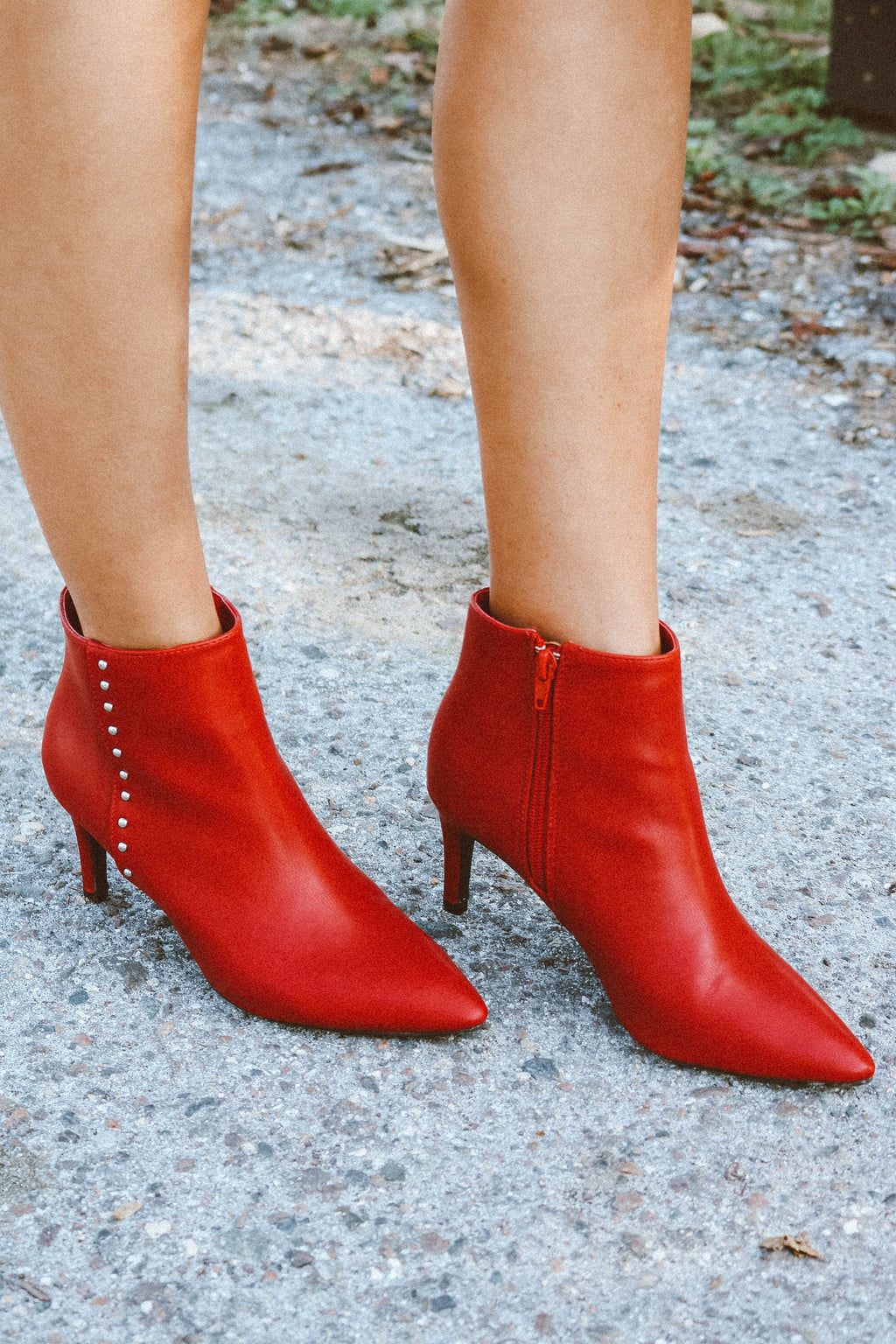 Longing Boot in Red