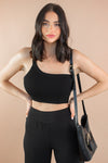 Simple Story Top in Black
