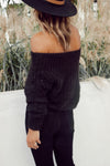 Marie Sweater in Black