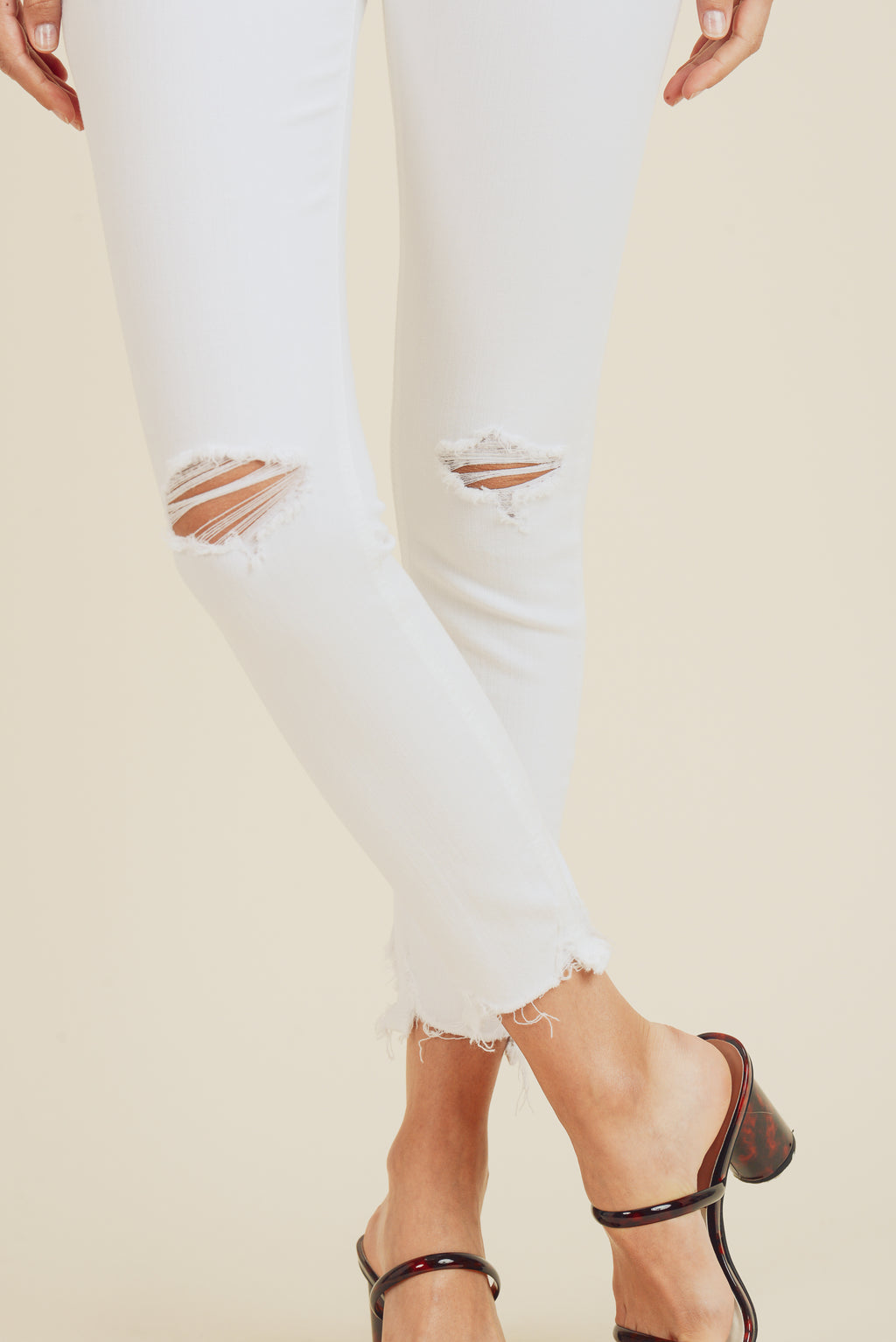 Marley Denim in White