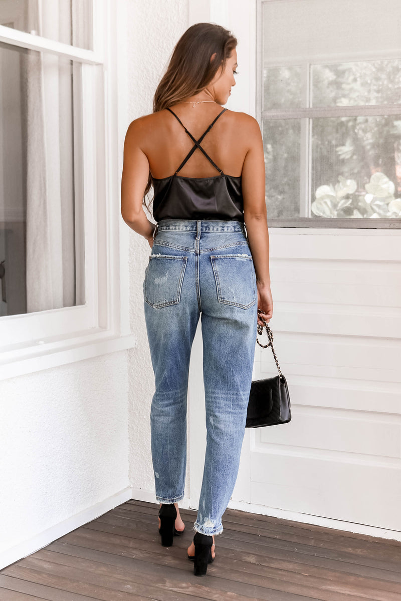 Mckenna Denim in Vintage Medium