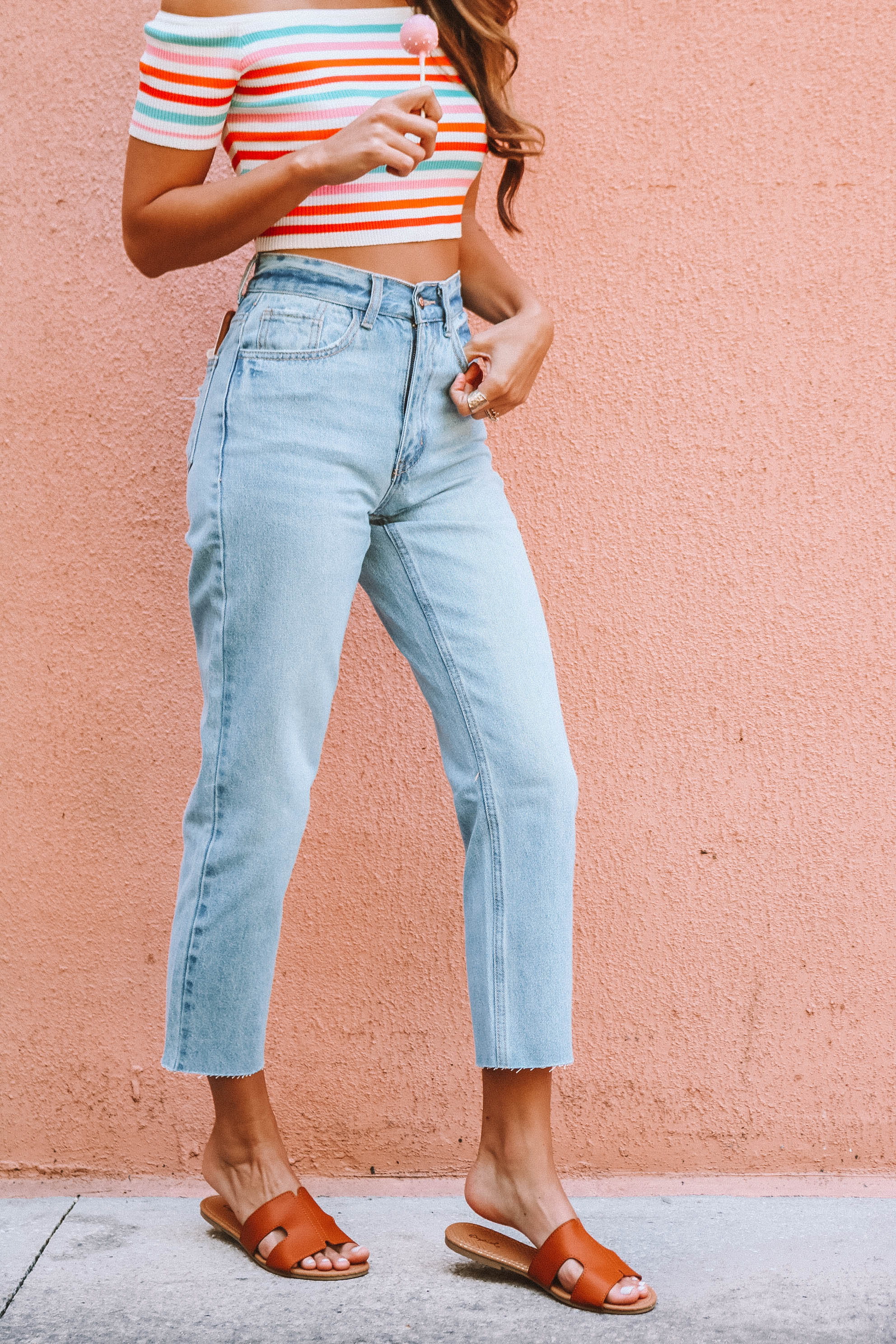 McKenna Denim in Bleach Light