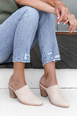Worth Ave Sandal in Blush