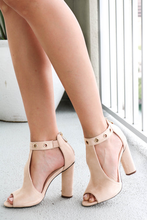 Nude to Meet You Ankle Boot