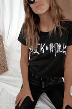 Rock N Roll Crop Tee