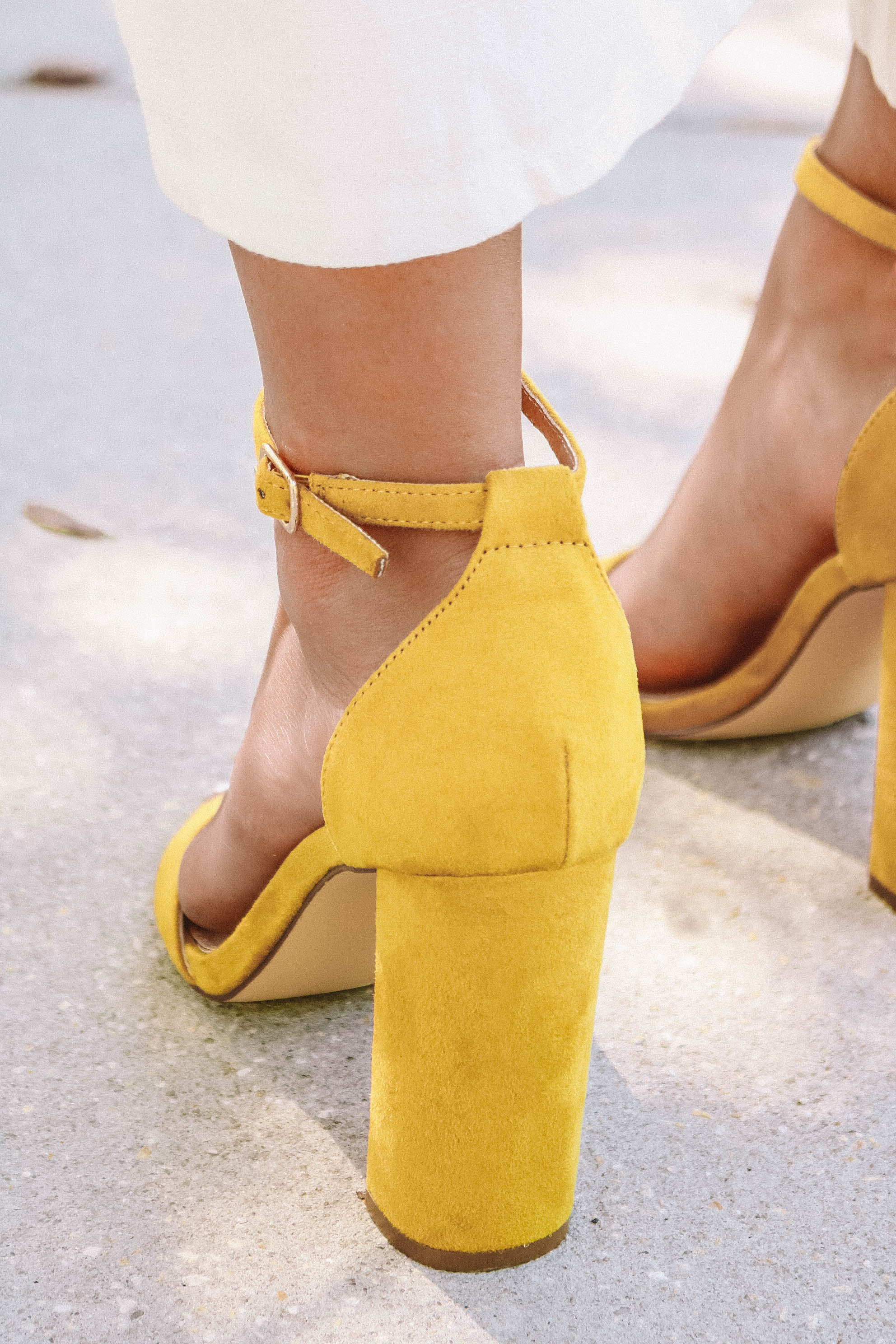 Simply the Best Heel in Yellow