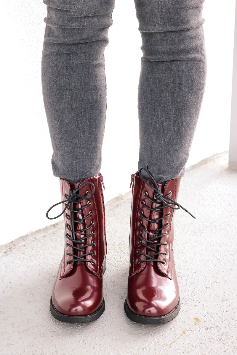 Timberly Combat Boot