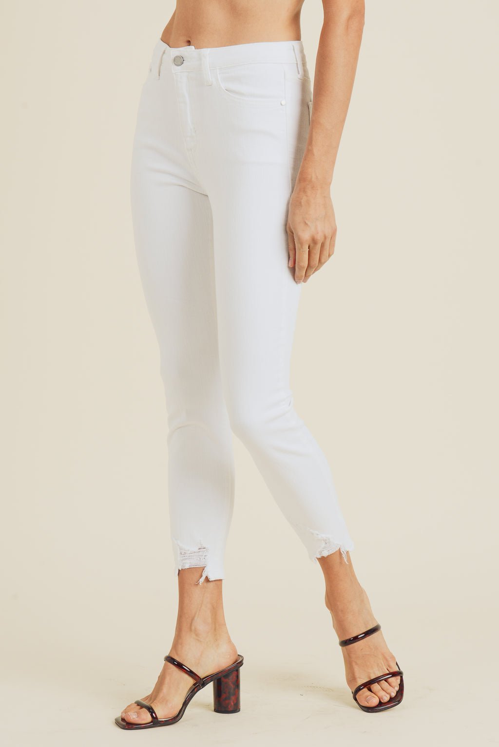 Tobi Denim in White