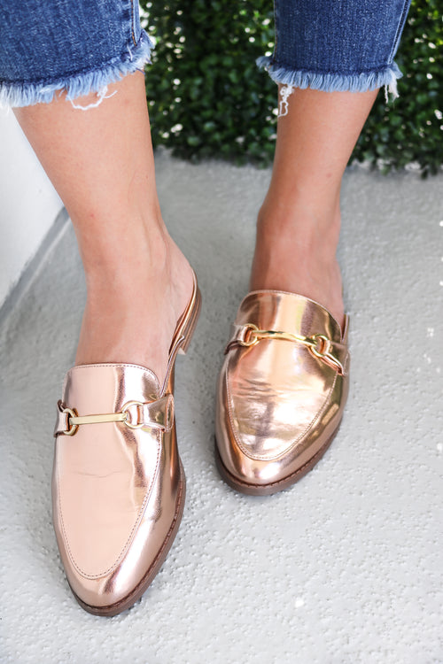 Chiara Slider in Rose Gold