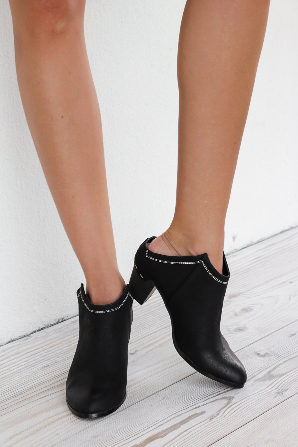Elton Mule Ankle Boot