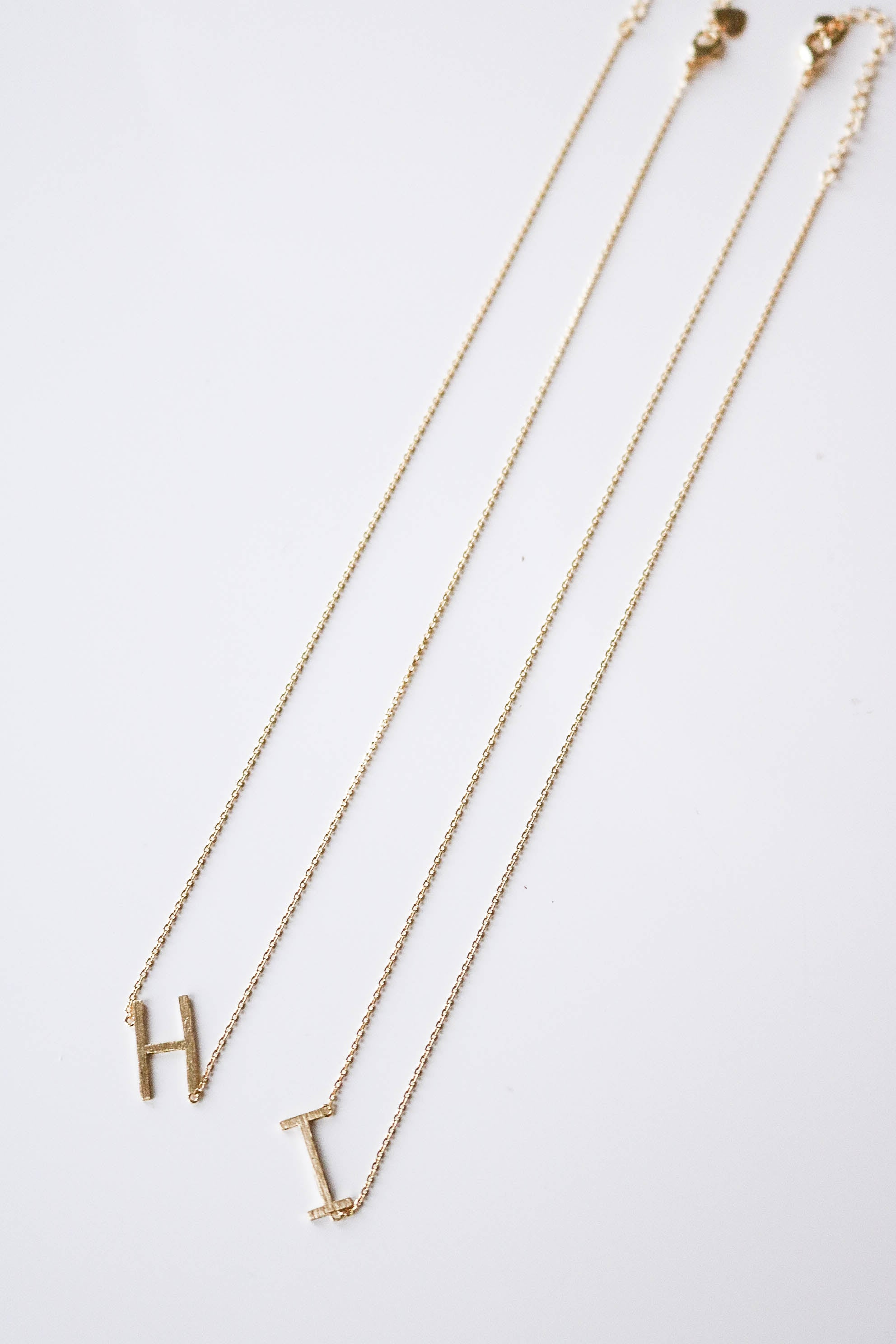 Initial Here Necklace