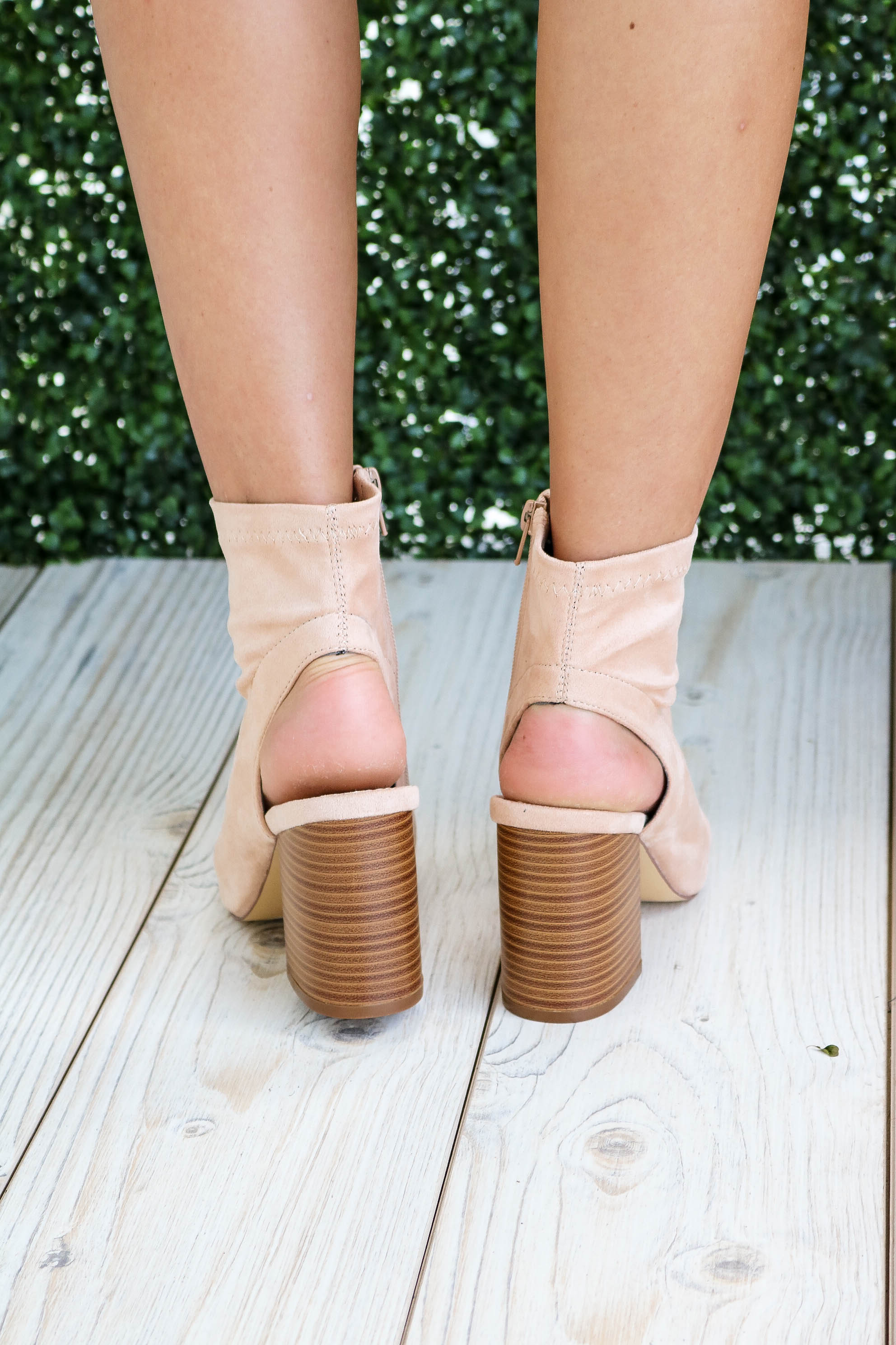Jaxon Ankle Boot in Nude