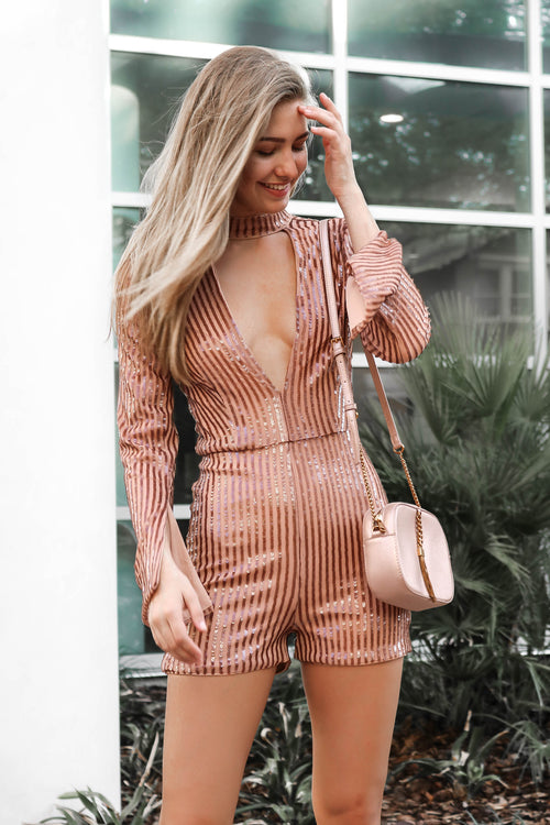 Mauvelous Romper