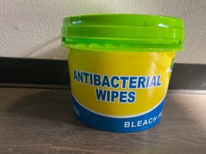 1 GALLON TUB OF ANTISEPTIC WIPES-800 WIPES PER TUB($49.95 EA)