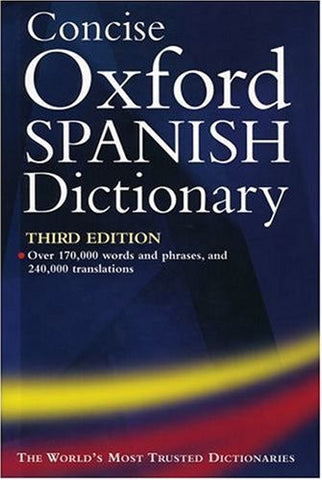 Concise Spanish Dictionary