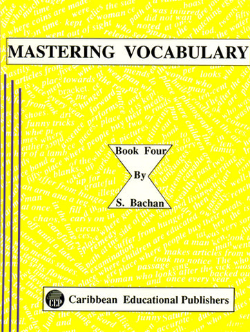 Mastering Vocabulary Book 4 by S. Bachan