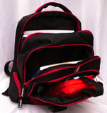 Norma Small Backpack for Kids Ferrari Black - Red