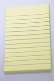 "Sticky Notes Yellow  Ruled  3""X5"" 70 Sheets"