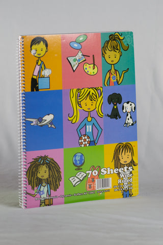 SPIRAL NOTEBOOK 70 SHEET 1 SUBJECT  Fashion Design