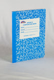 Composition Notebook - 48 Sheets/ 96 Pages Grade 3 Color Cover