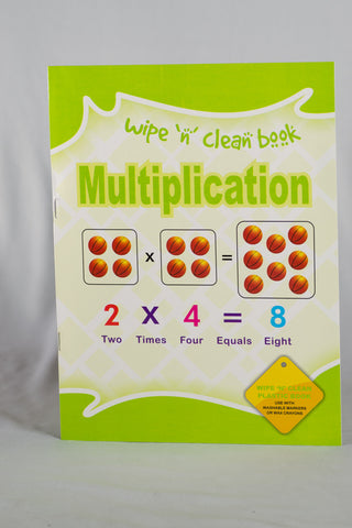 UC20065 A+ Homework Wipe And Clean Books Mathematics