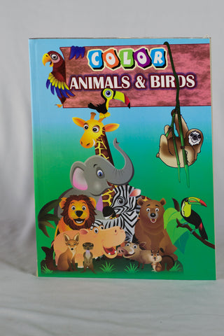 UC20054 A+Homework Bulk COLOURING BOOK 96 PAGE - NATURE DESIGNS