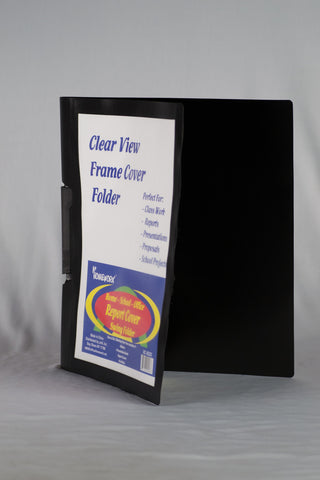 Report Cover Clear View With Frame Swing Style