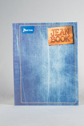 Norma Large Double Pocket Folder Jean Book Paper Portfolio