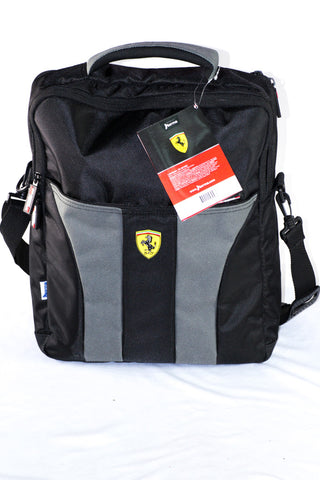 Norma Shoulder Bag Ferrari Black - Grey