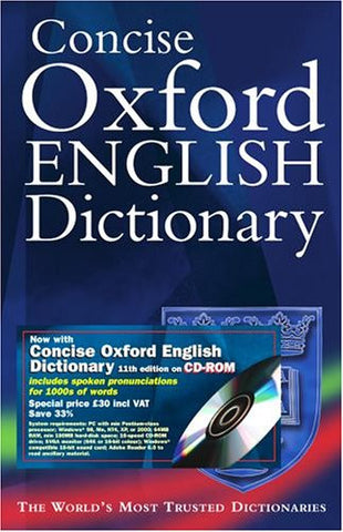 Concise English Dictionary w/CDROM
