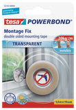 tesa® Double Sided tape Powerbond Transparent 1.5mx19mm