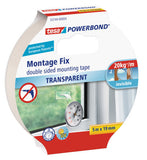 tesa® Double Sided tape Powerbond Transparent 5mx19mm