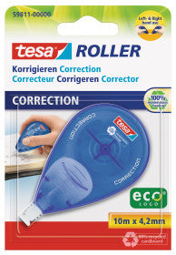 tesa® Correction tesa® Roller 10mx4.2mm
