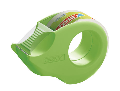 tesa® Clear tape with Mini dispenser 10mx19mm