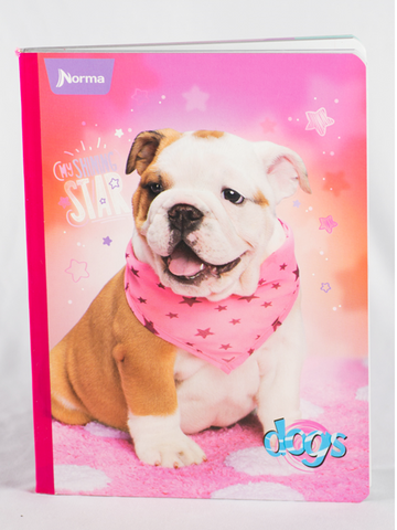 546034 Norma Composition Notebook Dogs