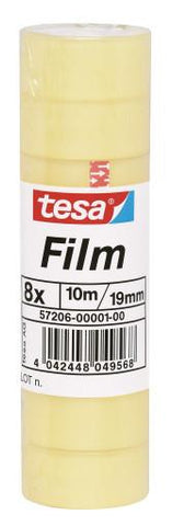tesa® Standard Clear rollo 5mX12mm