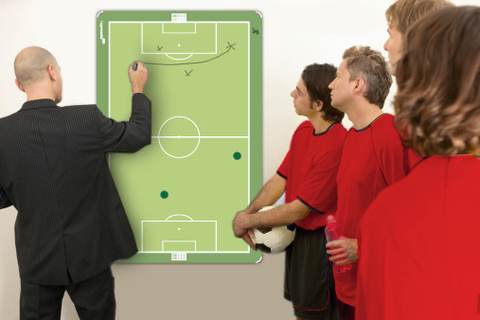 Legamaster ACCENTS Football / Soccer Field Whiteboard 60x90 cm
