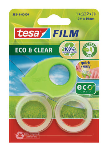 tesa® Mini Dispenser + 2 rolls tesafilm Eco 10x19
