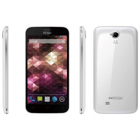 POSH Mobile Orion Pro X500A - Smartphone (Android OS) - White