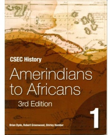 Amerindians to Africans 3ed