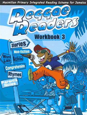 Reggae Readers Workbook 3 -Macmillan Primary Integrated Reading Scheme for Jamaica