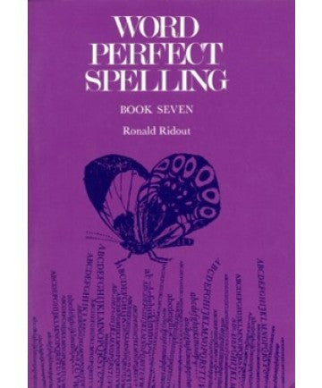 Word Perfect Spelling International 2nd Edition Book 7