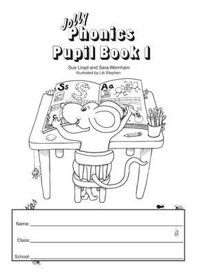 Jolly Phonics Pupil Book 1 Black & White