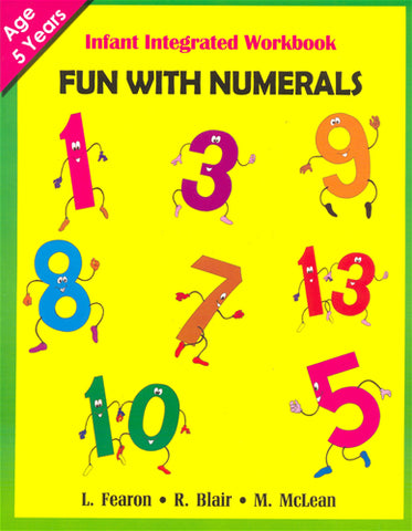 Infant Integrated Workbook  - Fun With Numerals
