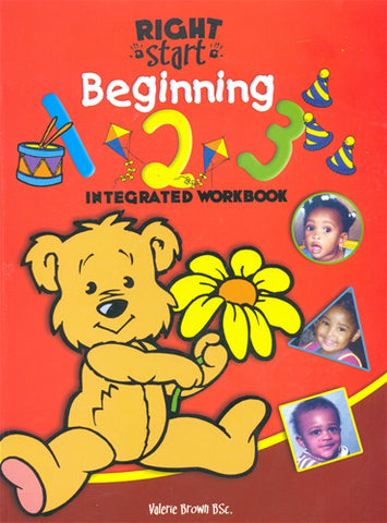 Right Start Beginning 1, 2, 3 Integrated Workbook
