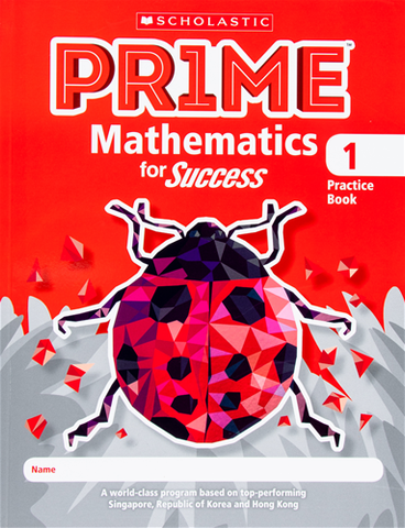 Scholastic Pr1me Mathematics for Success Practice Books