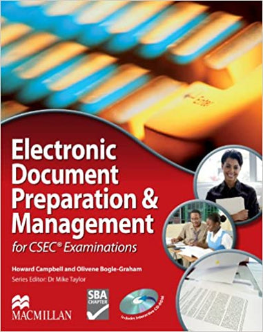 Electronic Document Preparation and Management  for Csec by Howard Campbell