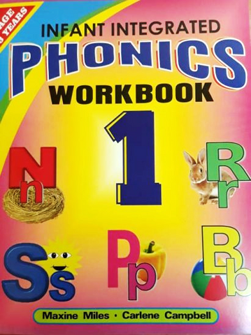Infant Integrated Phonics Work Book 1- M. Miles, C. Campbell (Previously - All Around Us – Letters And Sounds)