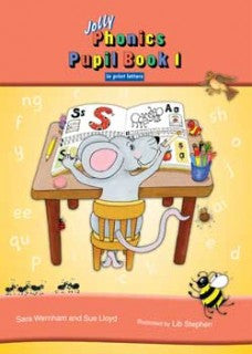 Jolly Phonics Pupil Bk 1 Colour in Print Letters